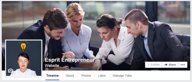 Esprit Entrepreneur sur Facebook